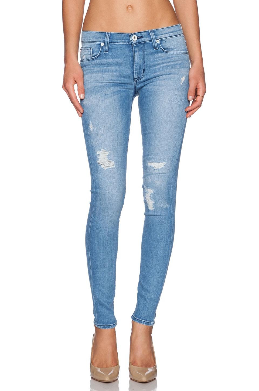 Hudson Jeans Nico Midrise Super Skinny in Buzzworthy