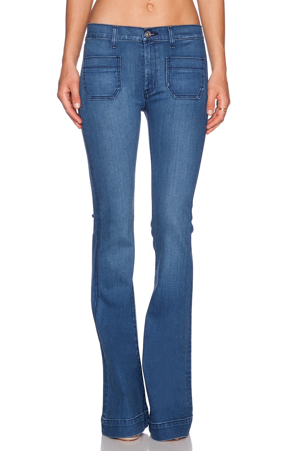 Hudson Jeans Taylor High Waist Flare in Superior
