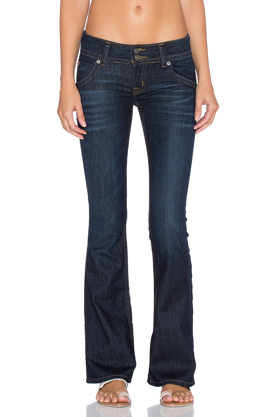 Hudson Jeans Signature Petite Boot in Firefly