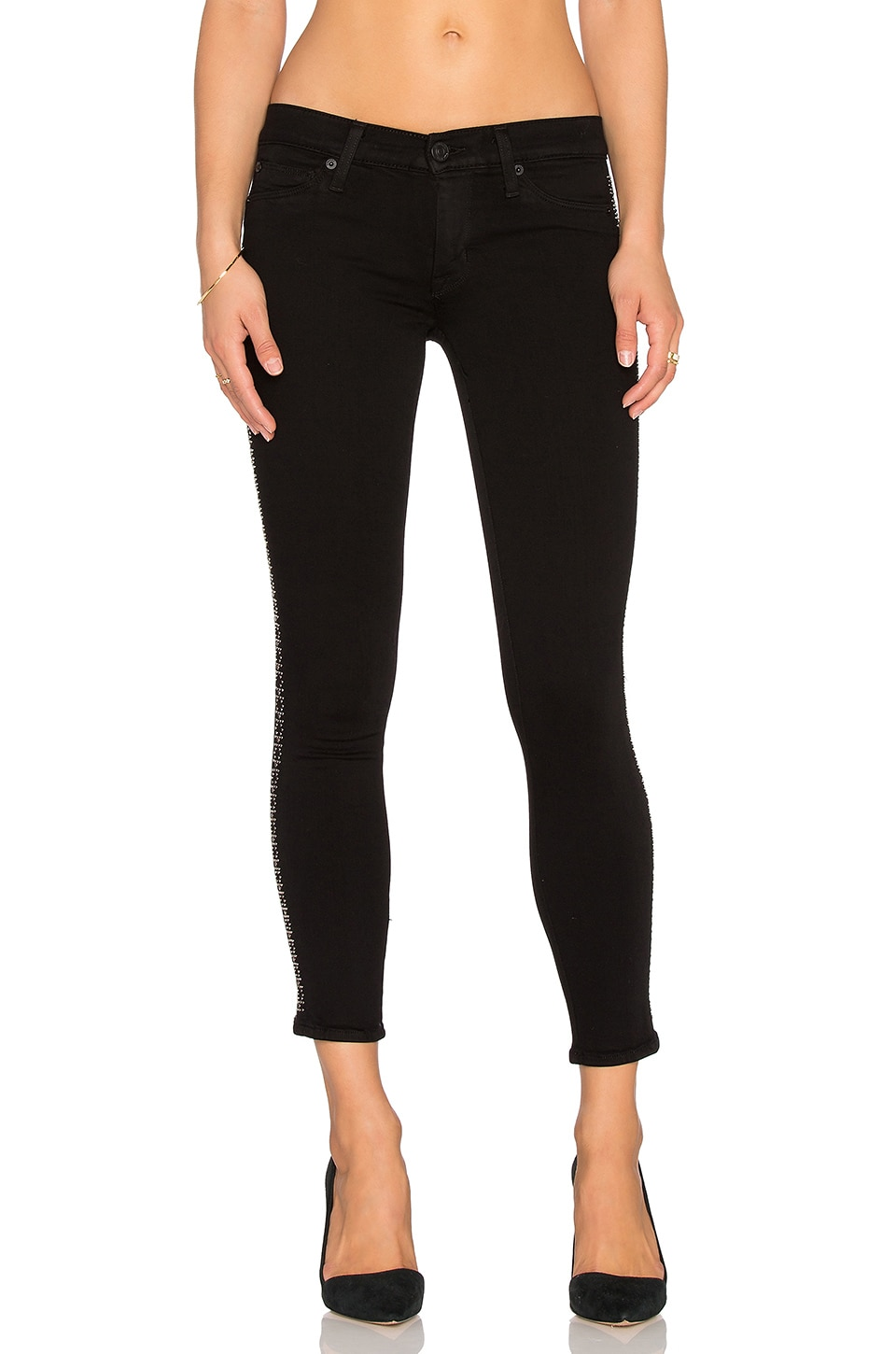 Luna Midrise Skinny Ankle at Revolve Clothing