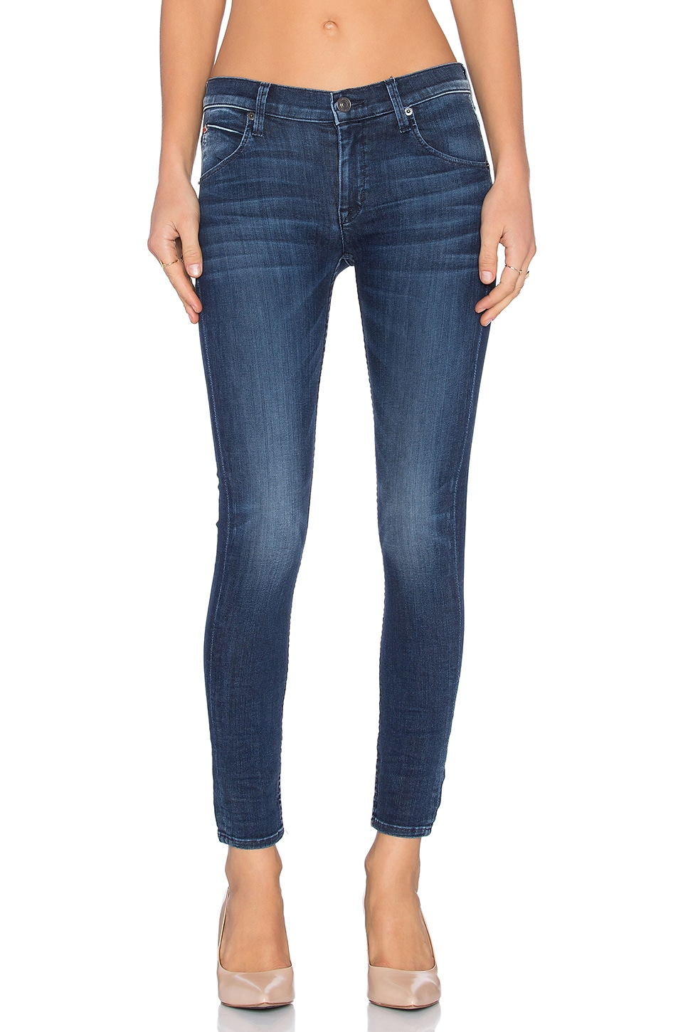 Hudson Jeans Lilly Ankle Skinny in Batallion