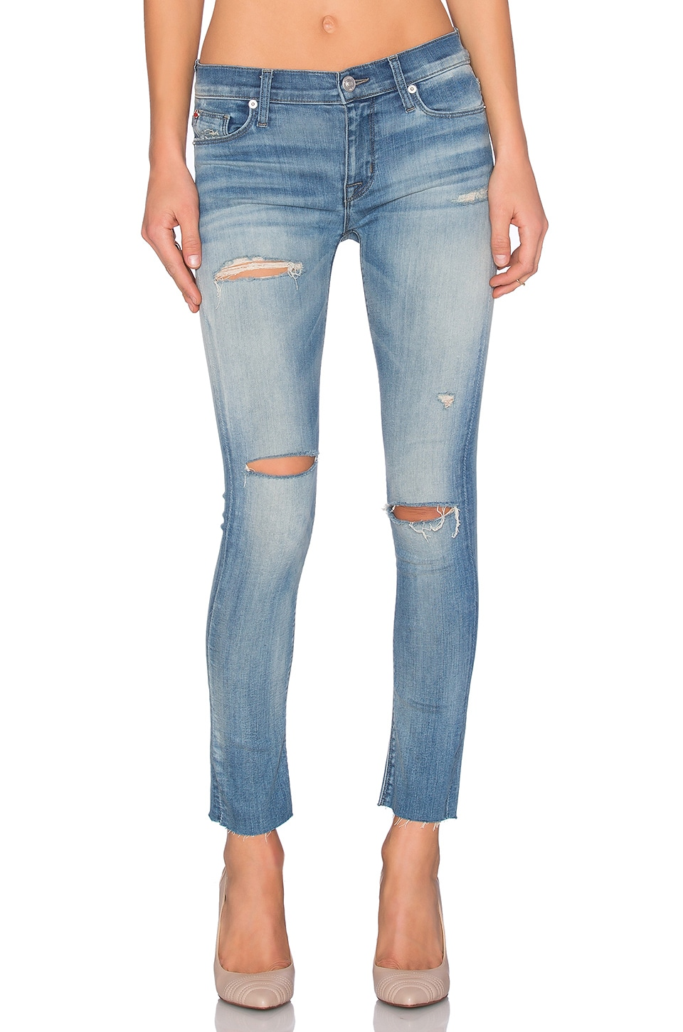 Shine Ankle Skinny at Revolve Clothing