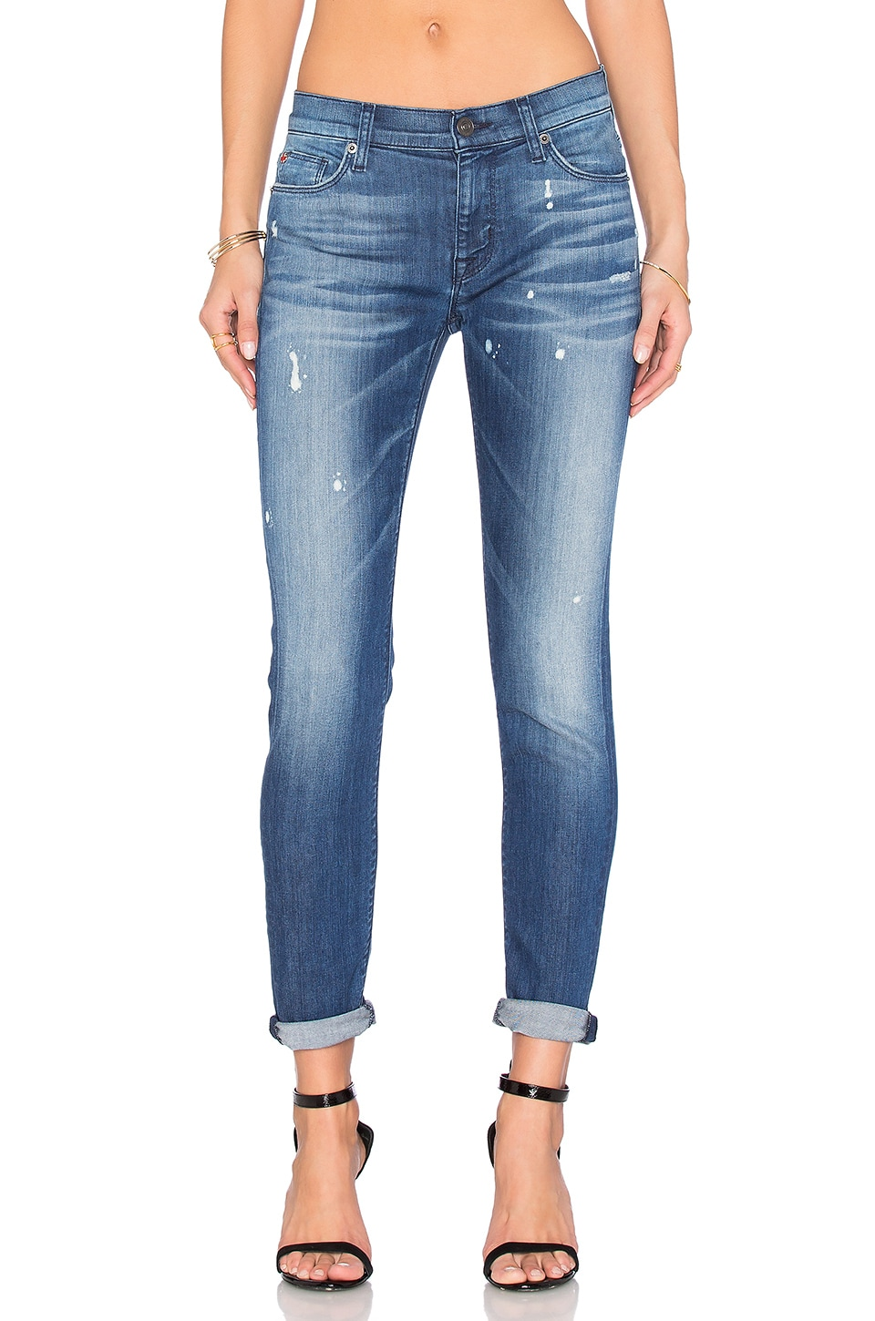 Hudson Jeans Nico Mid Rise Ankle Super Skinny