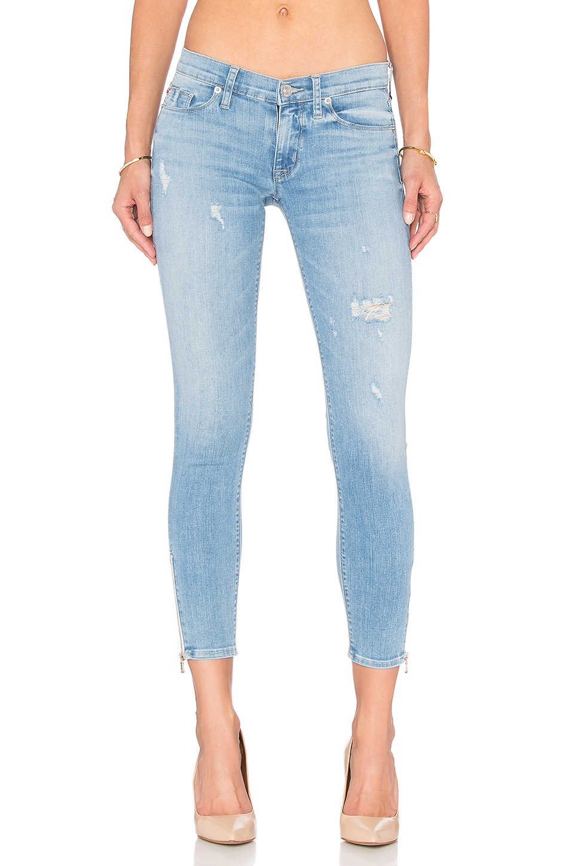 Krista Ankle Zip Super Skinny at Revolve Clothing