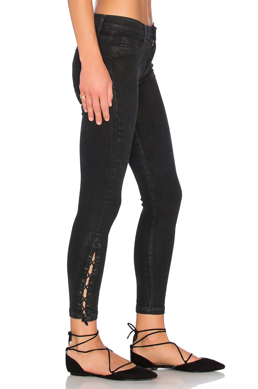 Nix Lace Up Crop by Hudson Jeans