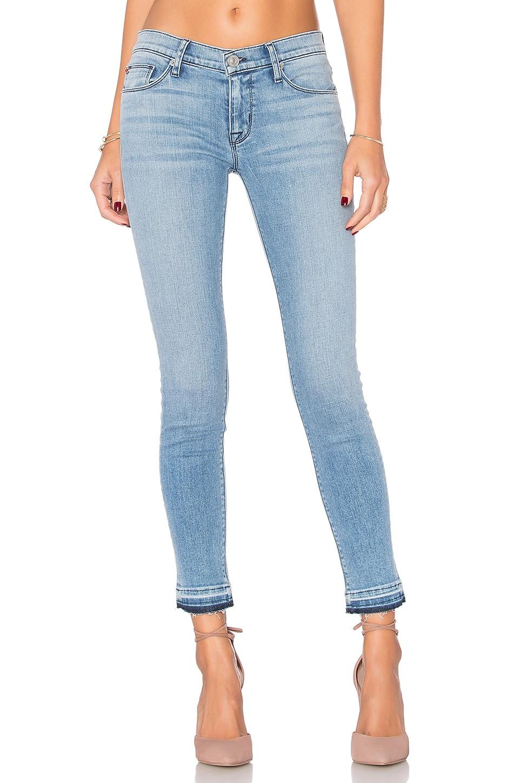 Krista Release Hem Skinny by Hudson Jeans