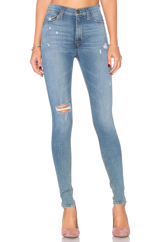 Hudson Jeans Barbara High Waist Skinny in Revolver