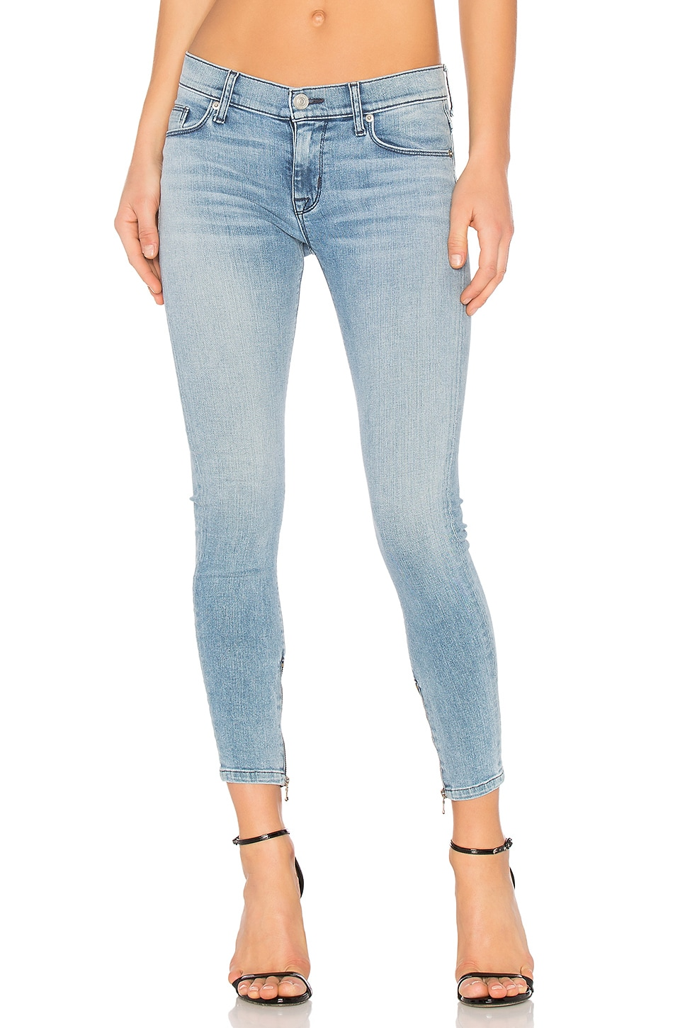Nico Ankle Zip Super Skinny by Hudson Jeans