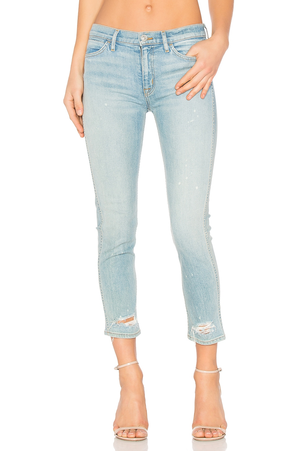 Savy Midrise Crop Straight by Hudson Jeans