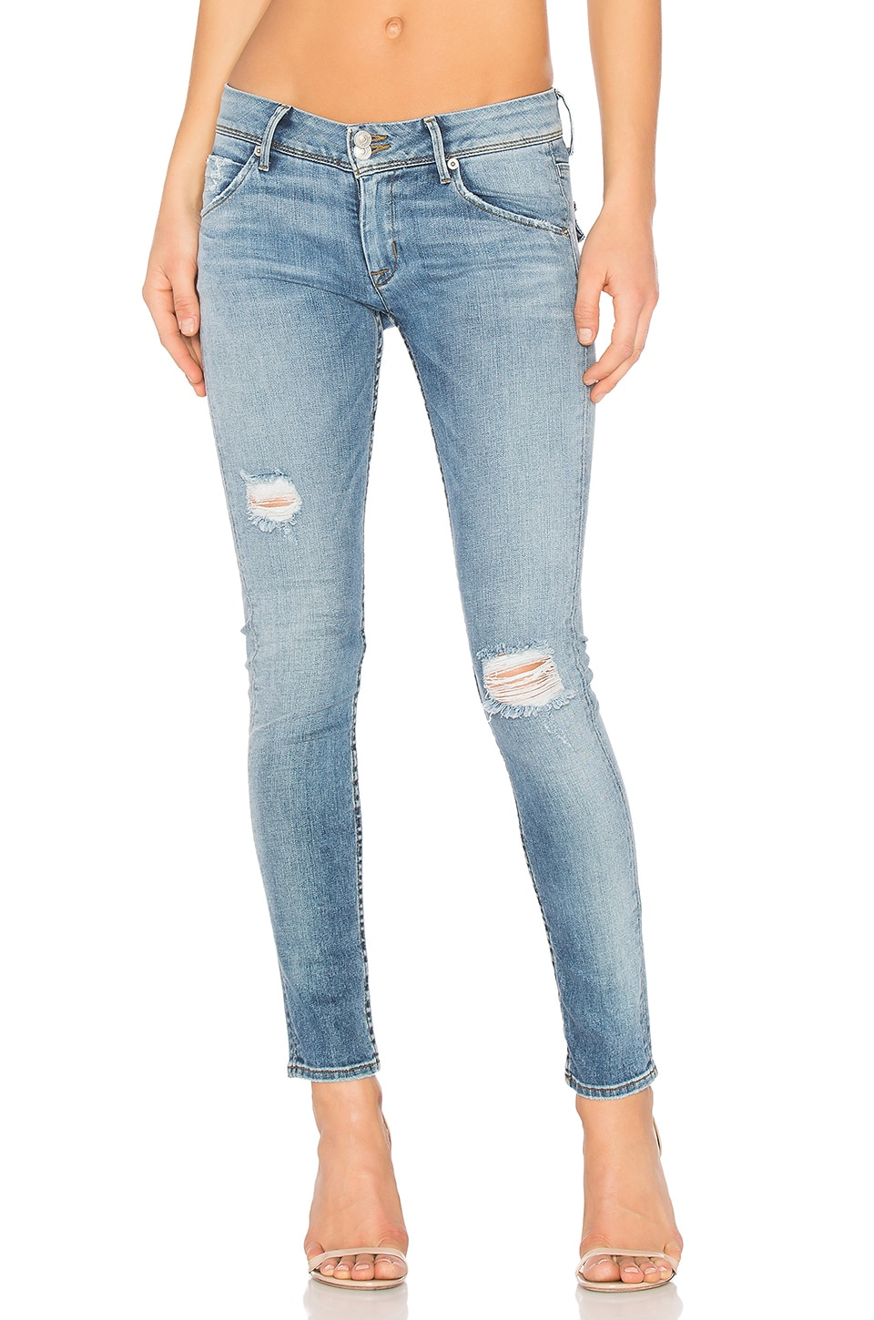 Collin Midrise Skinny by Hudson Jeans