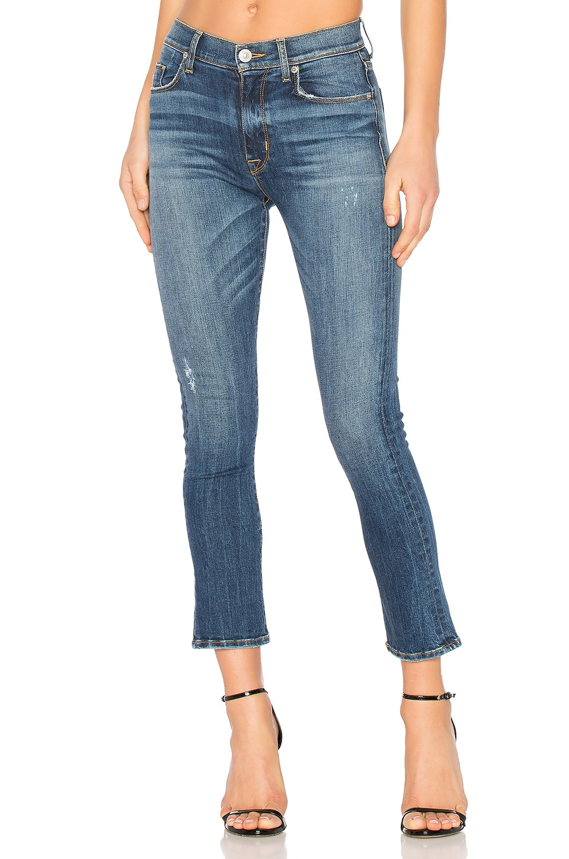 Harper Crop Baby Kick Flare by Hudson Jeans
