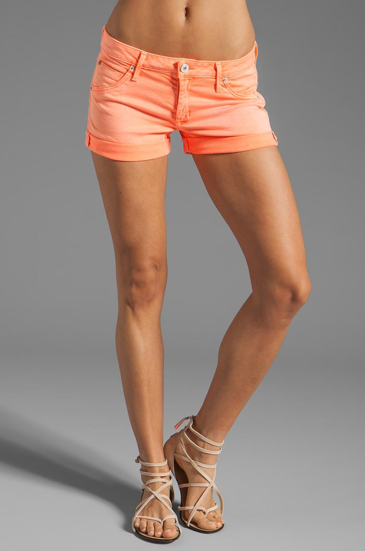 Hudson Jeans Hampton Cuff Short in Dayglo