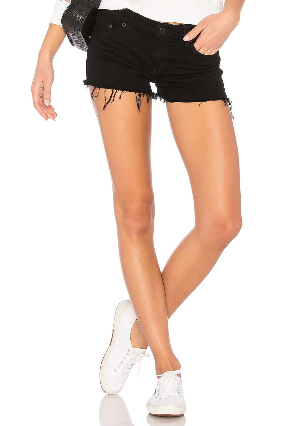 Hudson Jeans Kenzie Cut Off Short in Good Vibes