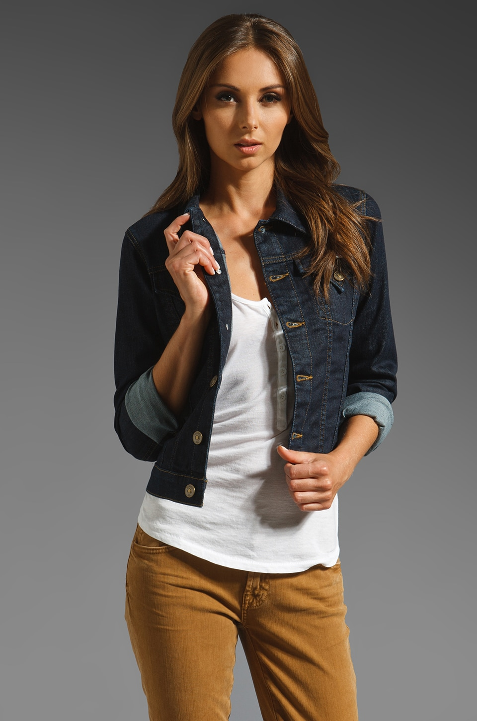 Hudson Jeans The Signature Jean Jacket in Rinse