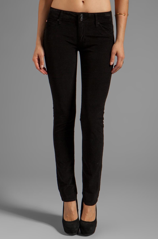 Hudson Jeans Cord Collin Skinny in Black