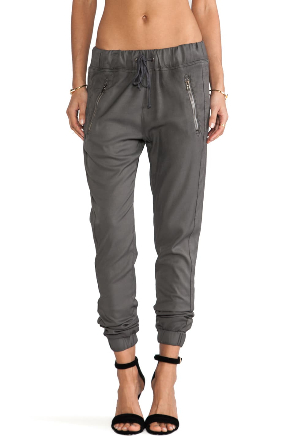 Hudson Jeans Katie Crop Pant in Grey