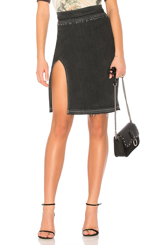 Hudson Jeans X Baja East Winnie Skirt in Black