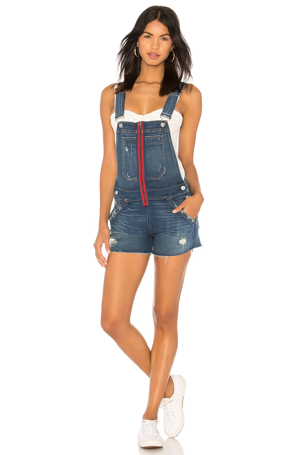 Hudson Jeans Joey Overall in War Paint