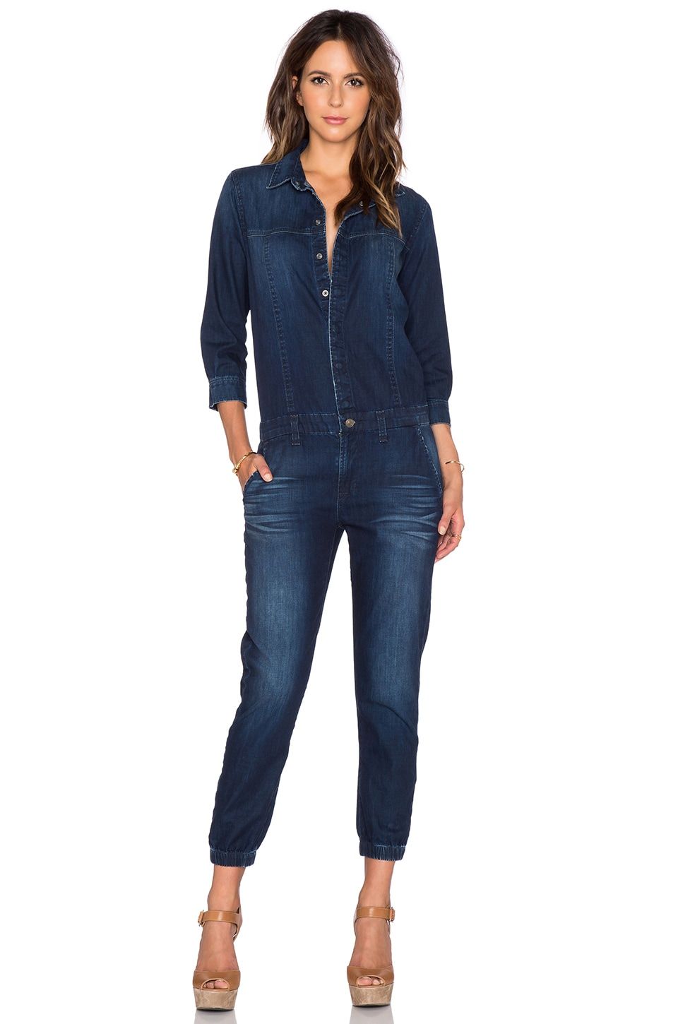 Hudson Jeans Ryder Jumpsuit in Miro
