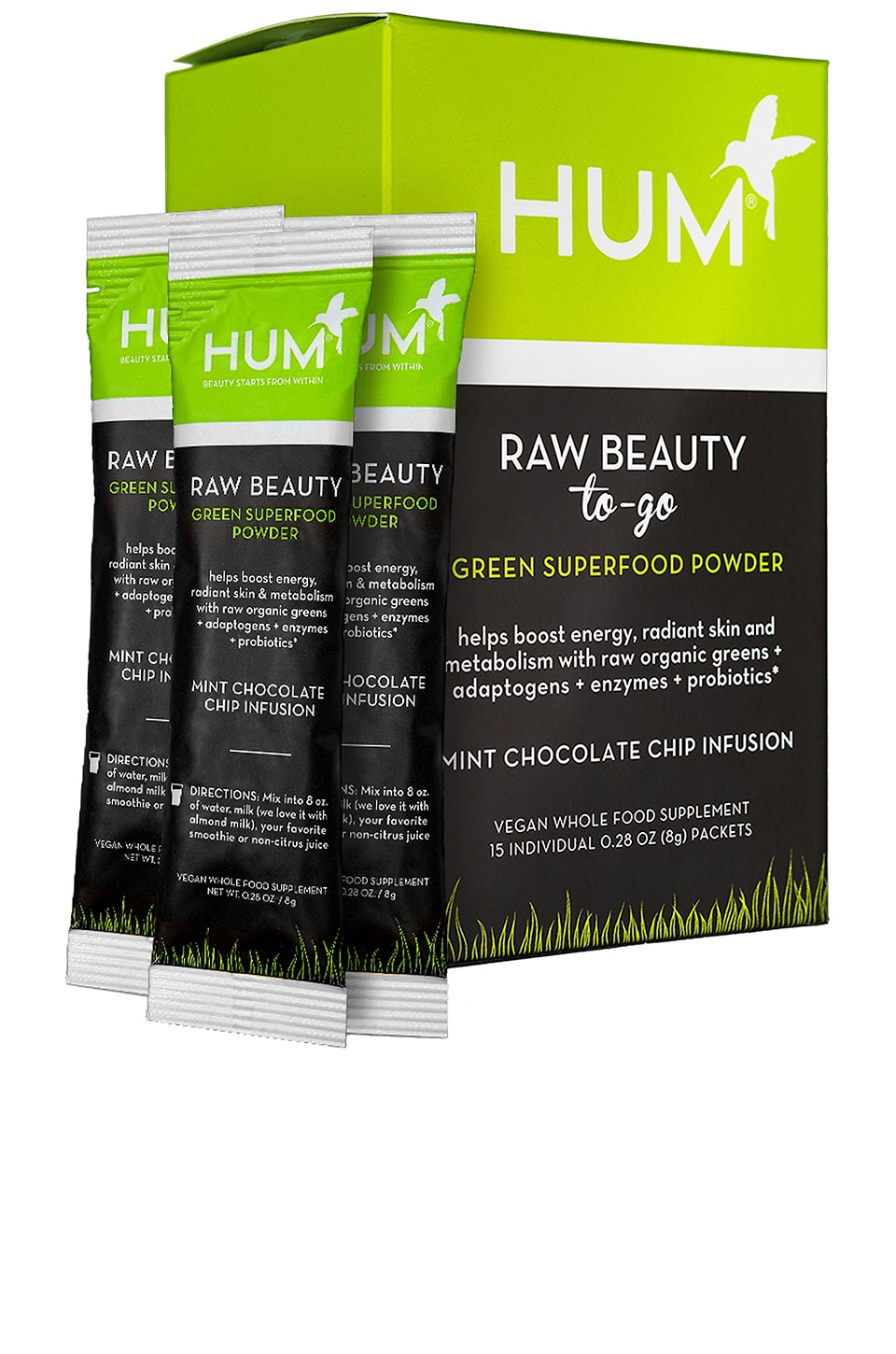 Beauty To Go Mint Chocolate Beauty Supplement