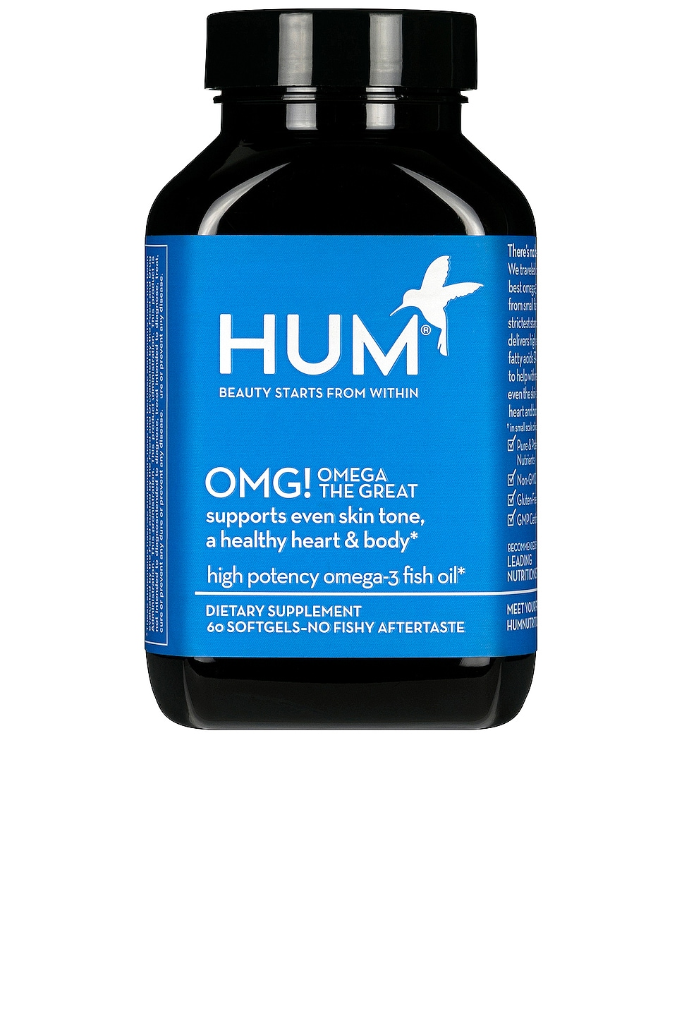 HUM Nutrition OMG! Omega The Great Fish Oil Supplement