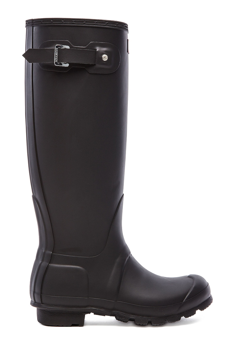 Hunter Original Tall Rain Boot in Black | REVOLVE