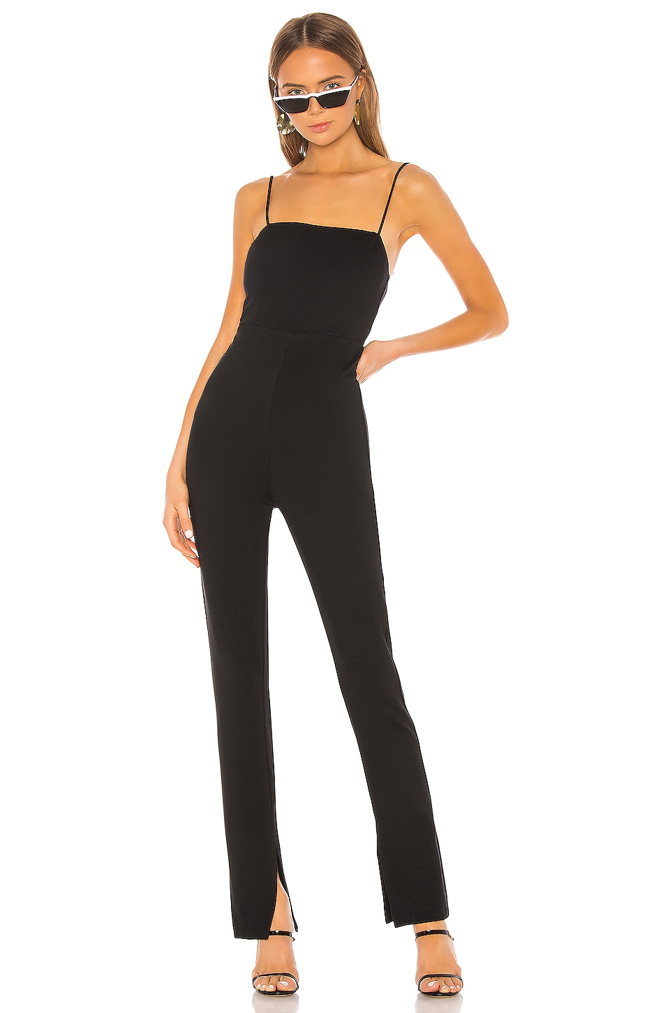 h:ours Tammi Jumpsuit in Black