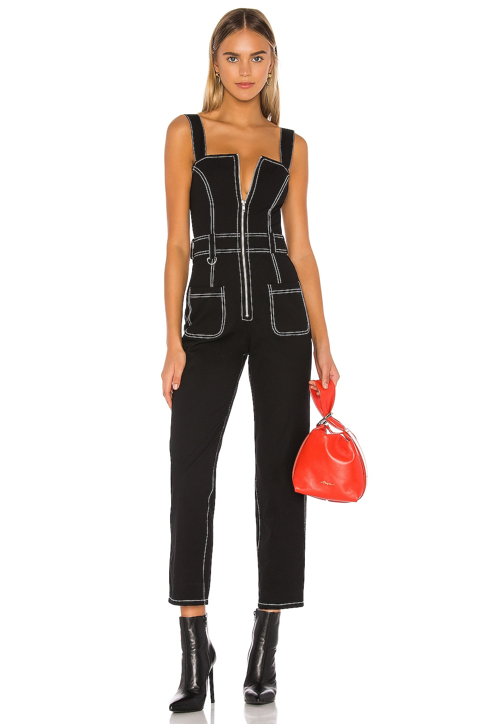h:ours Raleigh Jumpsuit in Black
