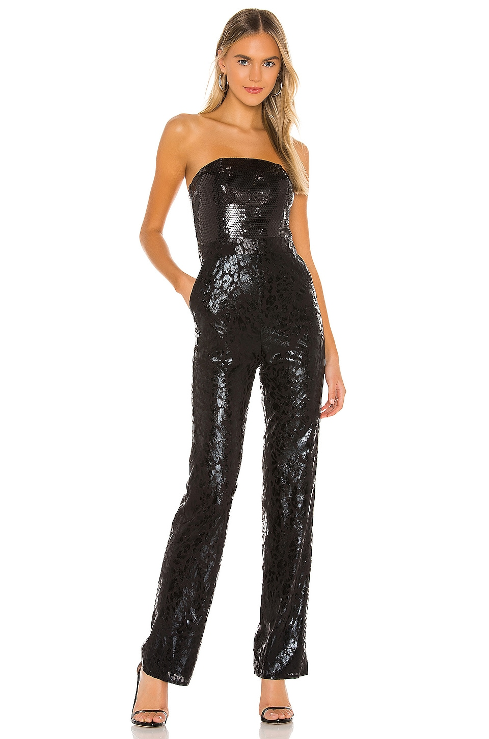 h:ours Calipso Jumpsuit in Black