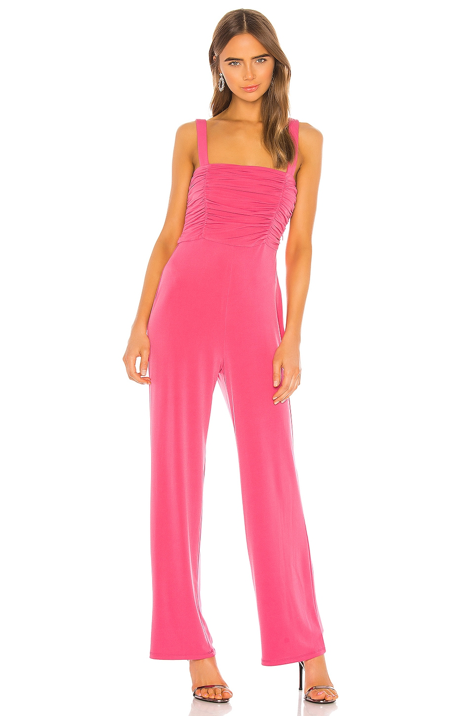 h:ours Rayne Jumpsuit in Pink