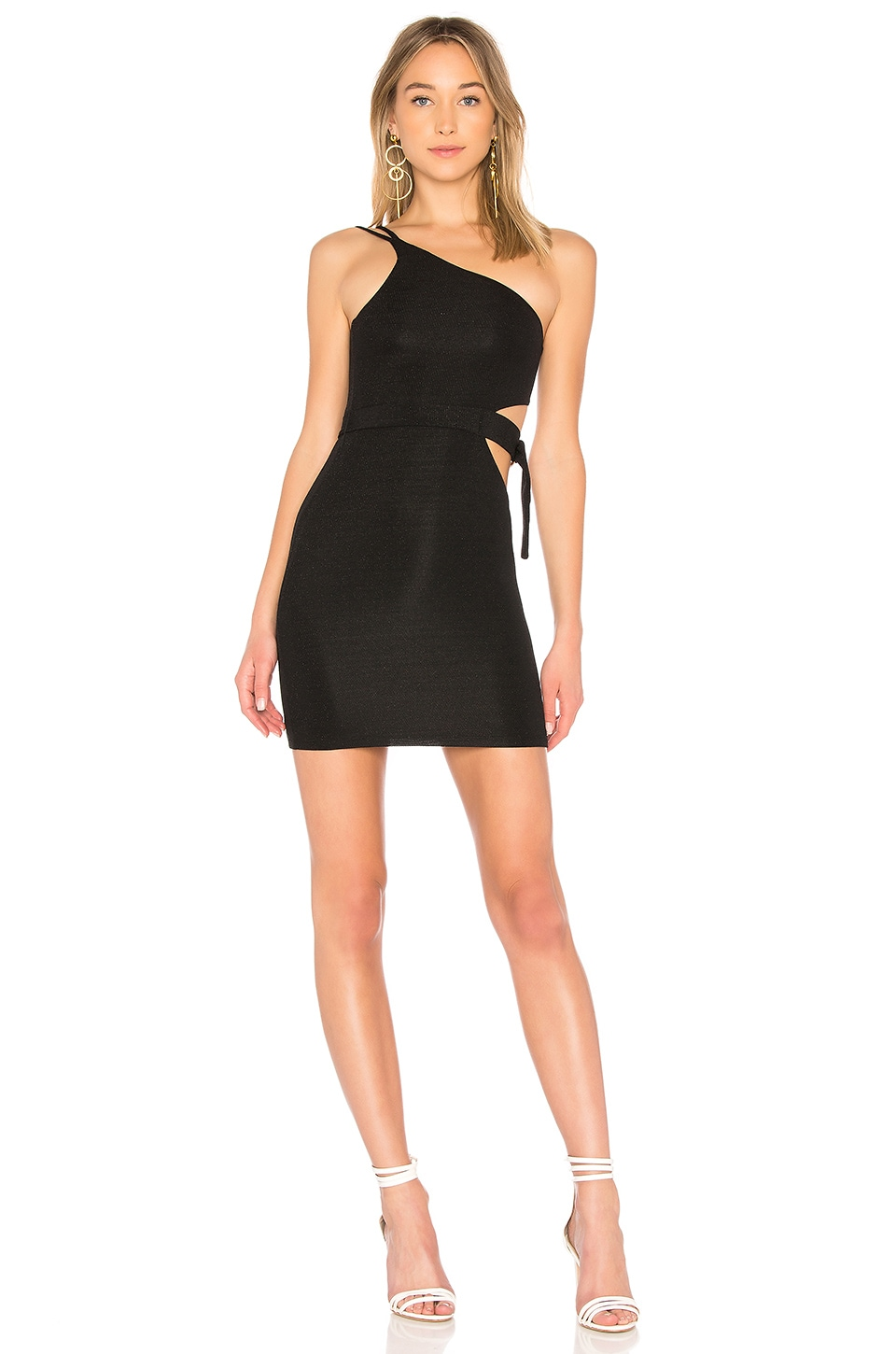 h:ours Cybele Dress in Black