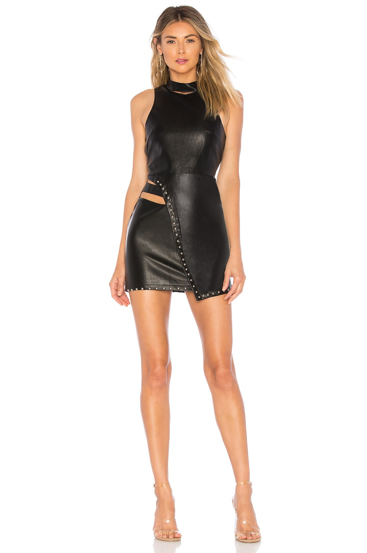 h:ours x Yovanna Ventura Ethel Dress in Black