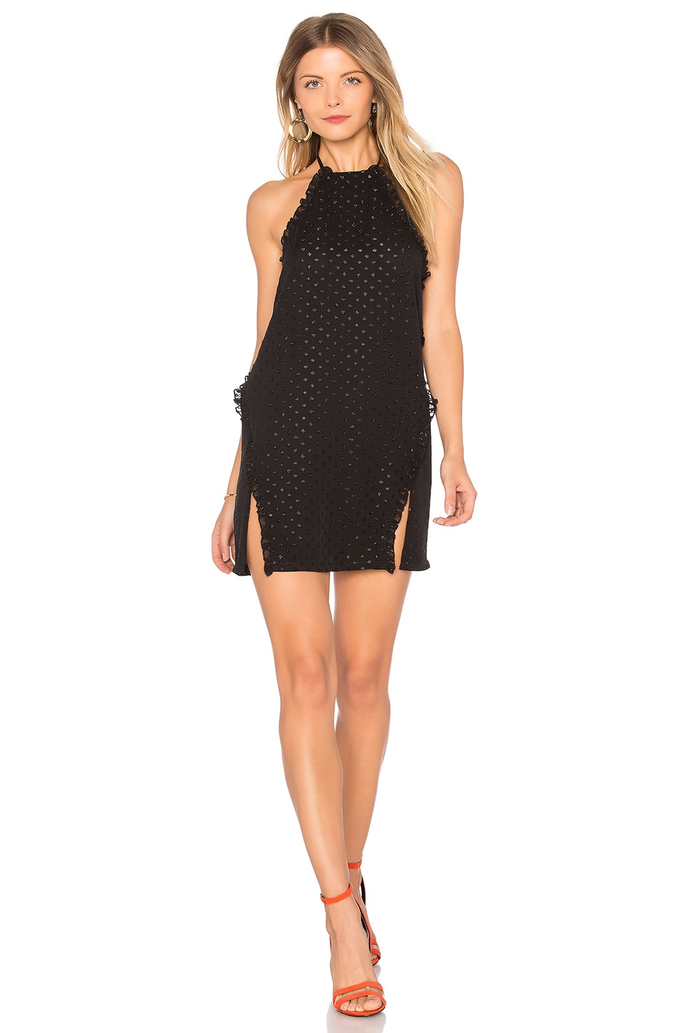 h:ours Maeva Dress in Black