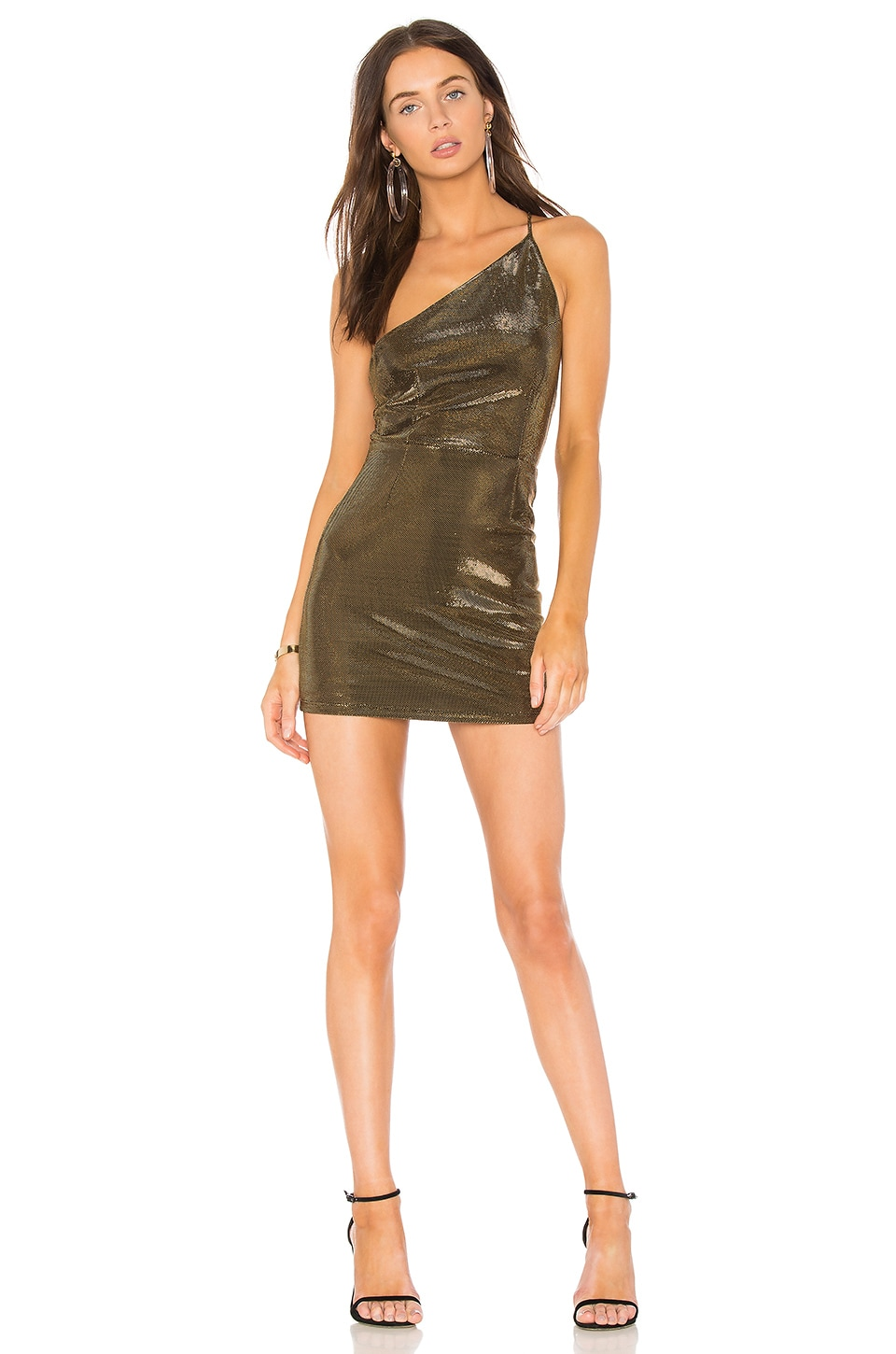 h:ours x REVOLVE Gyada Dress in Bronze