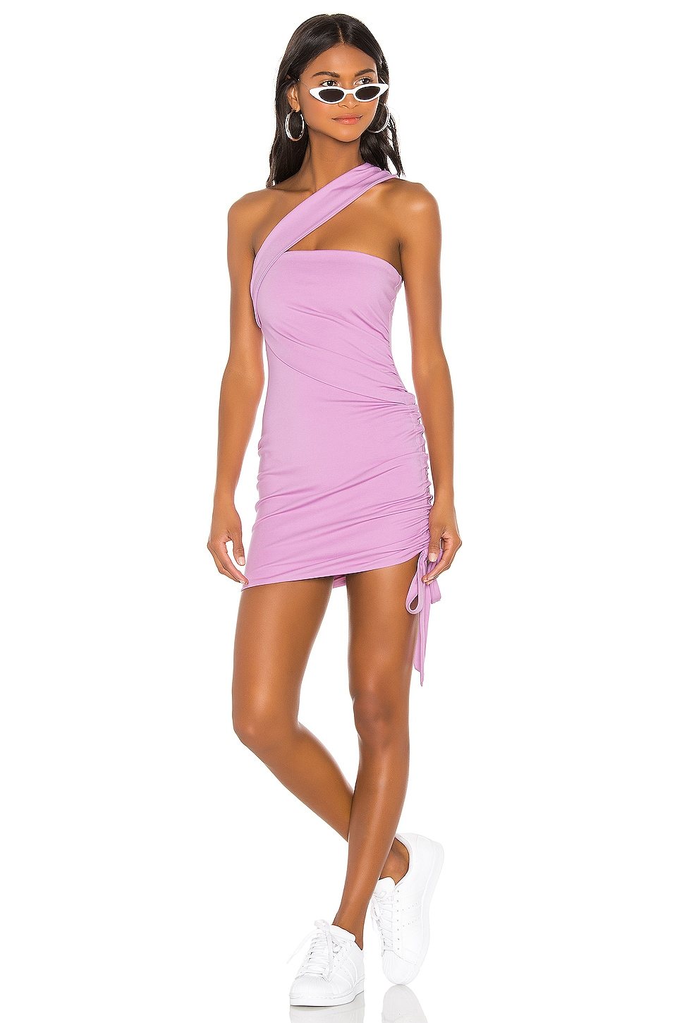 h:ours Solange Dress in Lilac