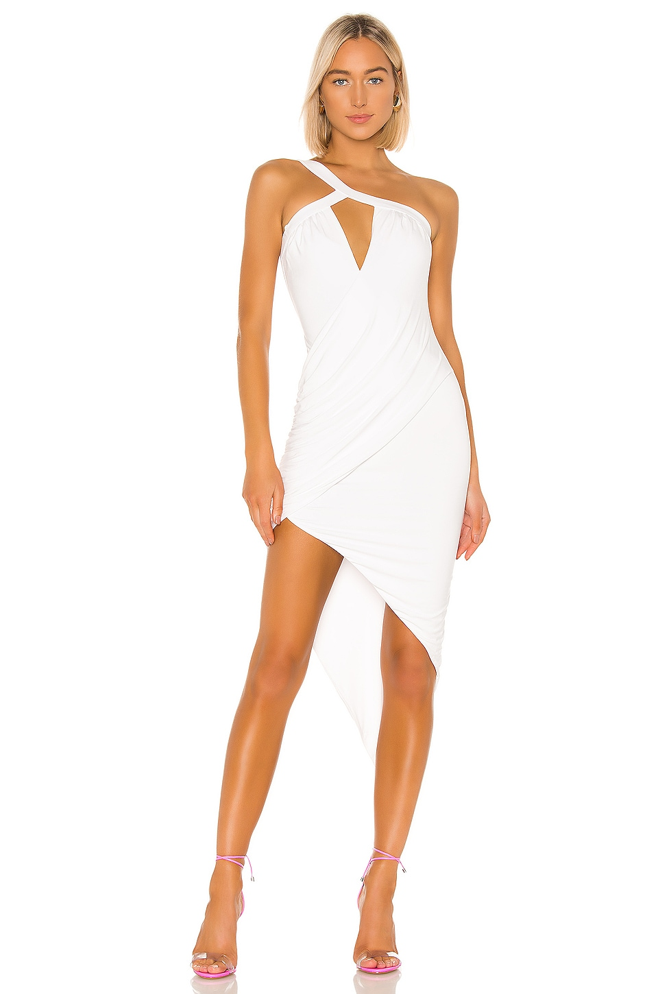 h:ours Calixto Dress in White