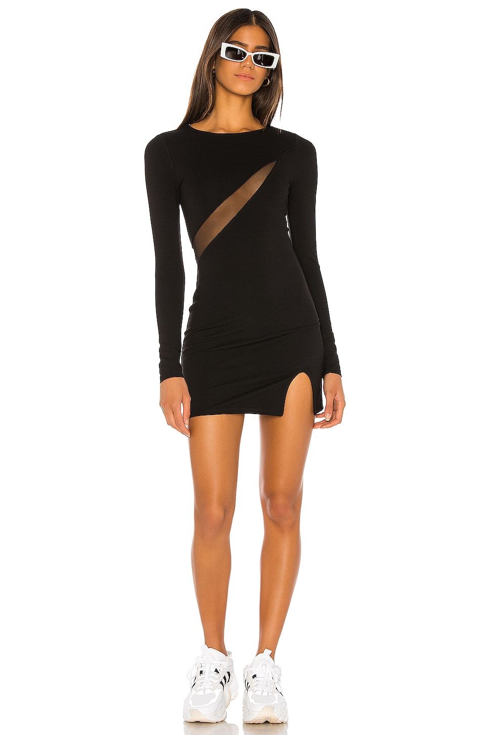 h:ours Omnia Dress in Black