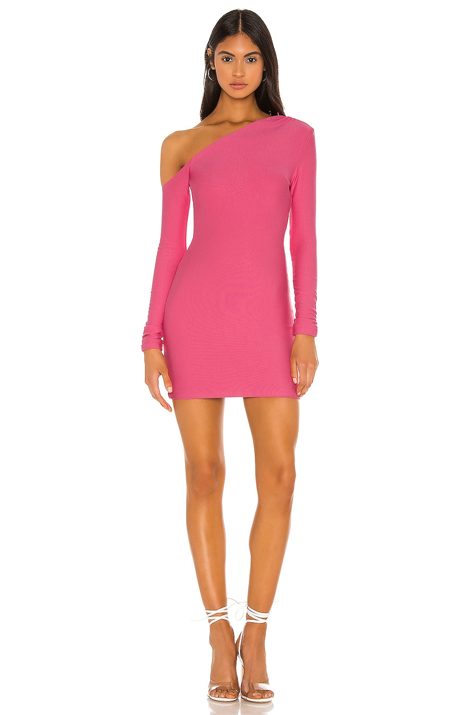 h:ours Maisy Dress in Taffy Pink