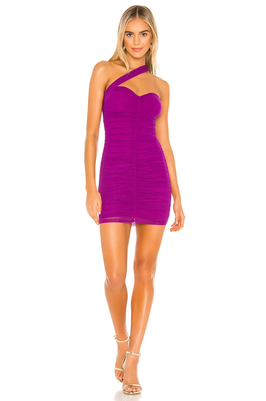 h:ours Dixon Dress in Fuchsia