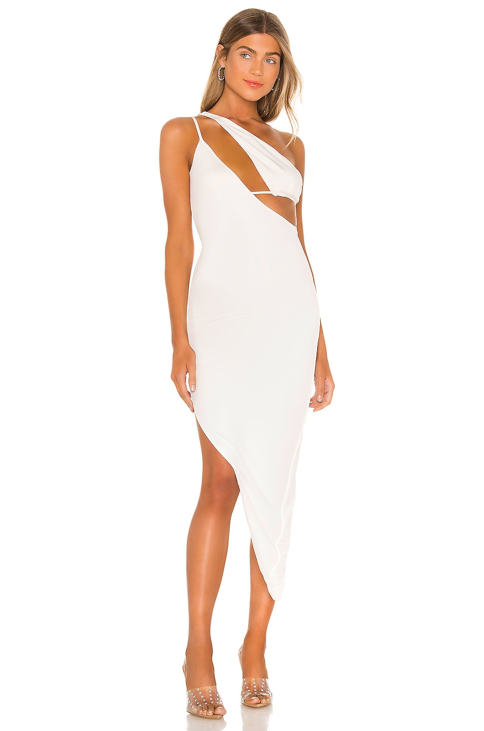 h:ours Revel Dress in White