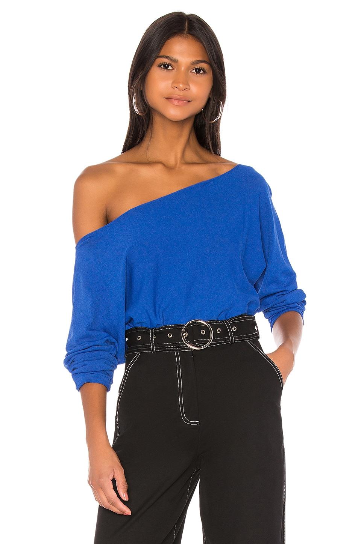 h:ours Sera Sweater in Cobalt Blue