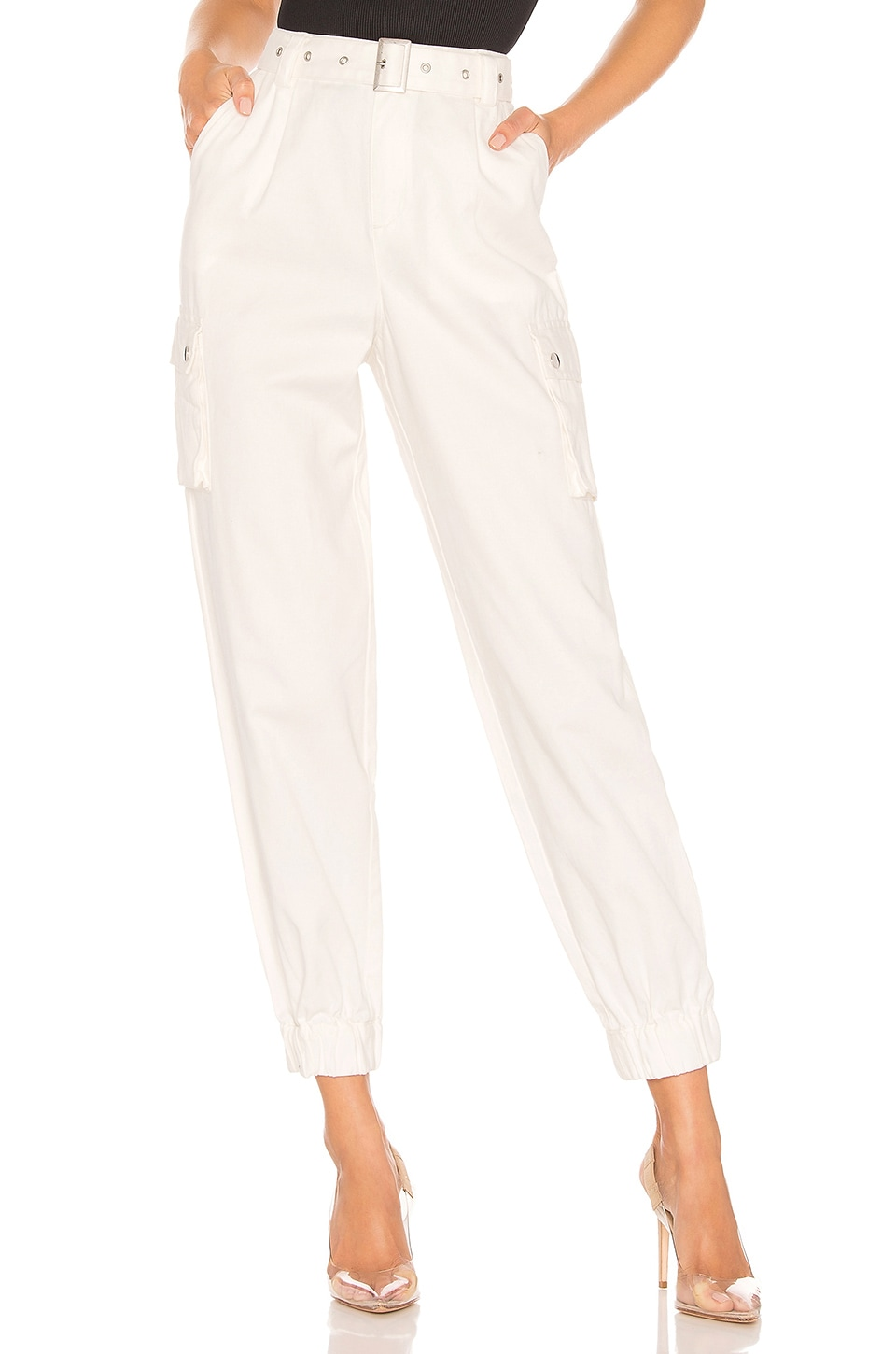 h:ours Rian Pants in White
