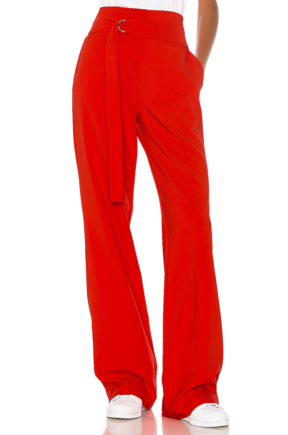 h:ours PANTALON TAILLE HAUTE LUCY