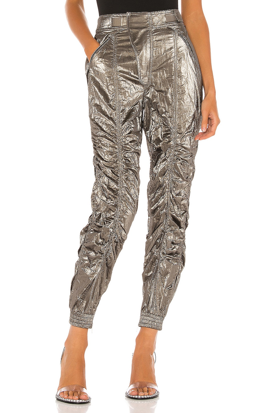 h:ours The Brie Pant in Silver