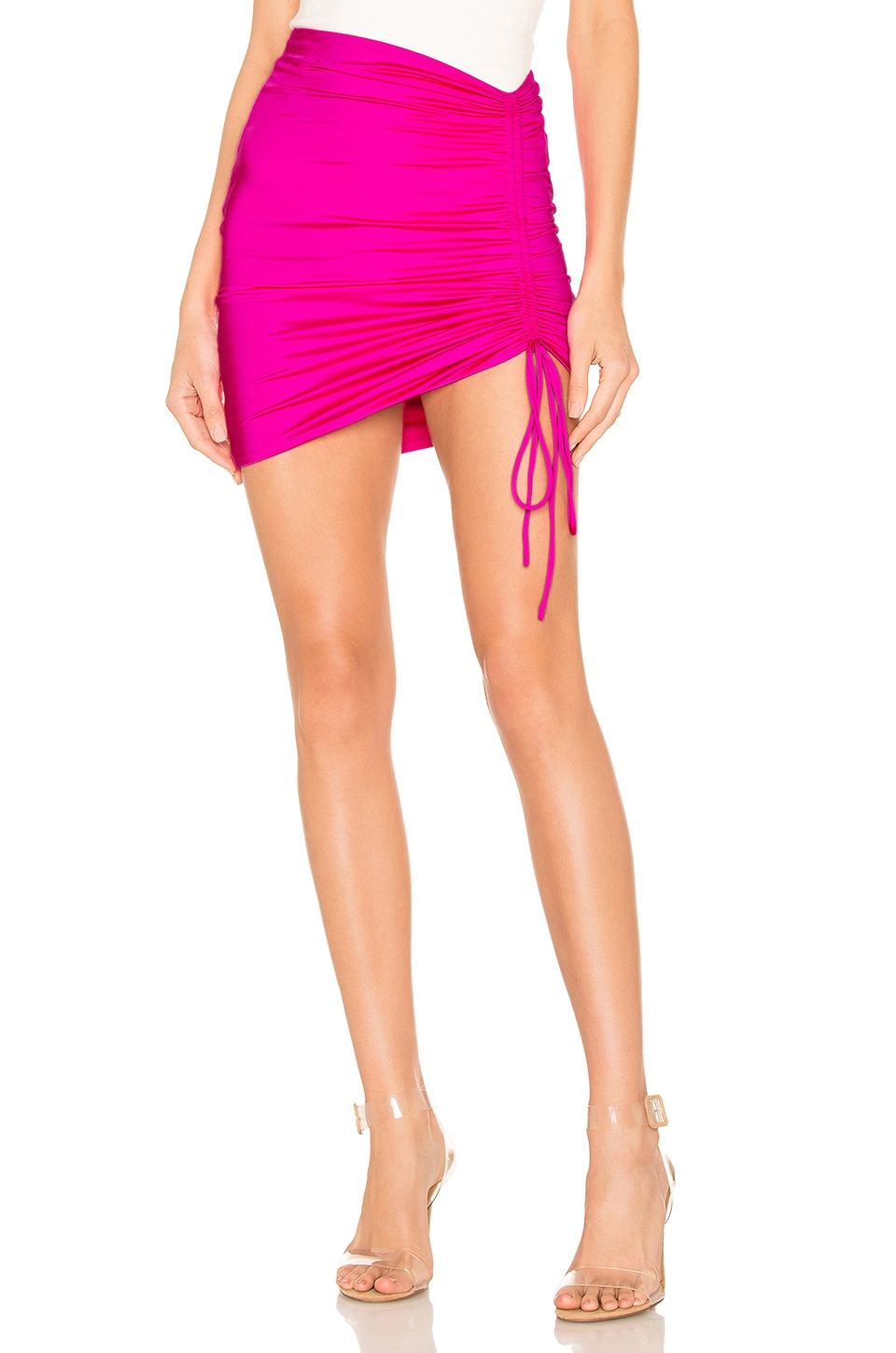 h:ours Nolene Skirt in Pink Punch