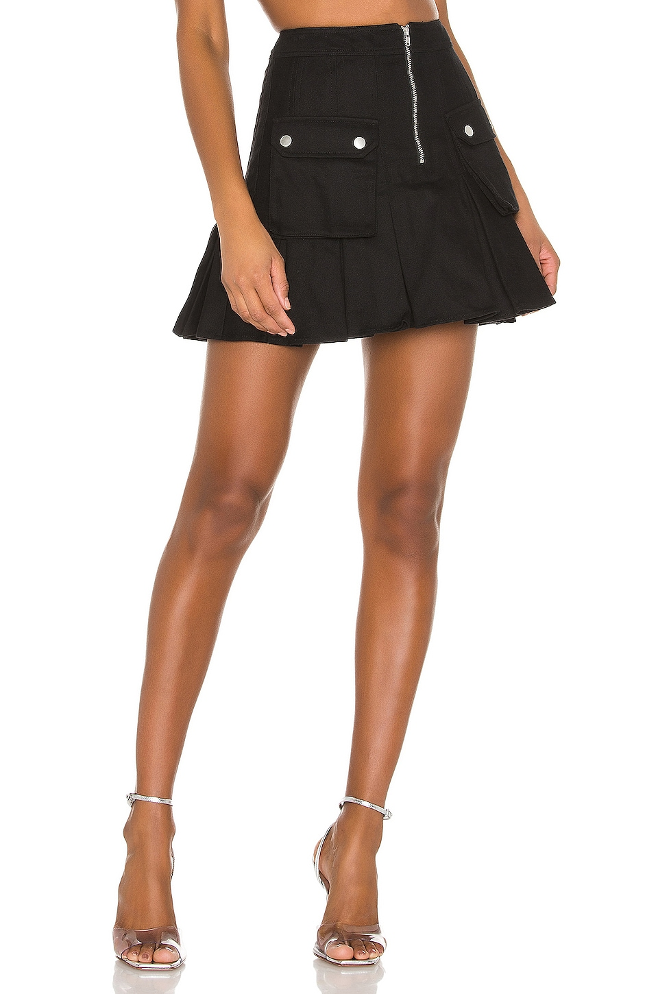 h:ours Dax Skirt in Black