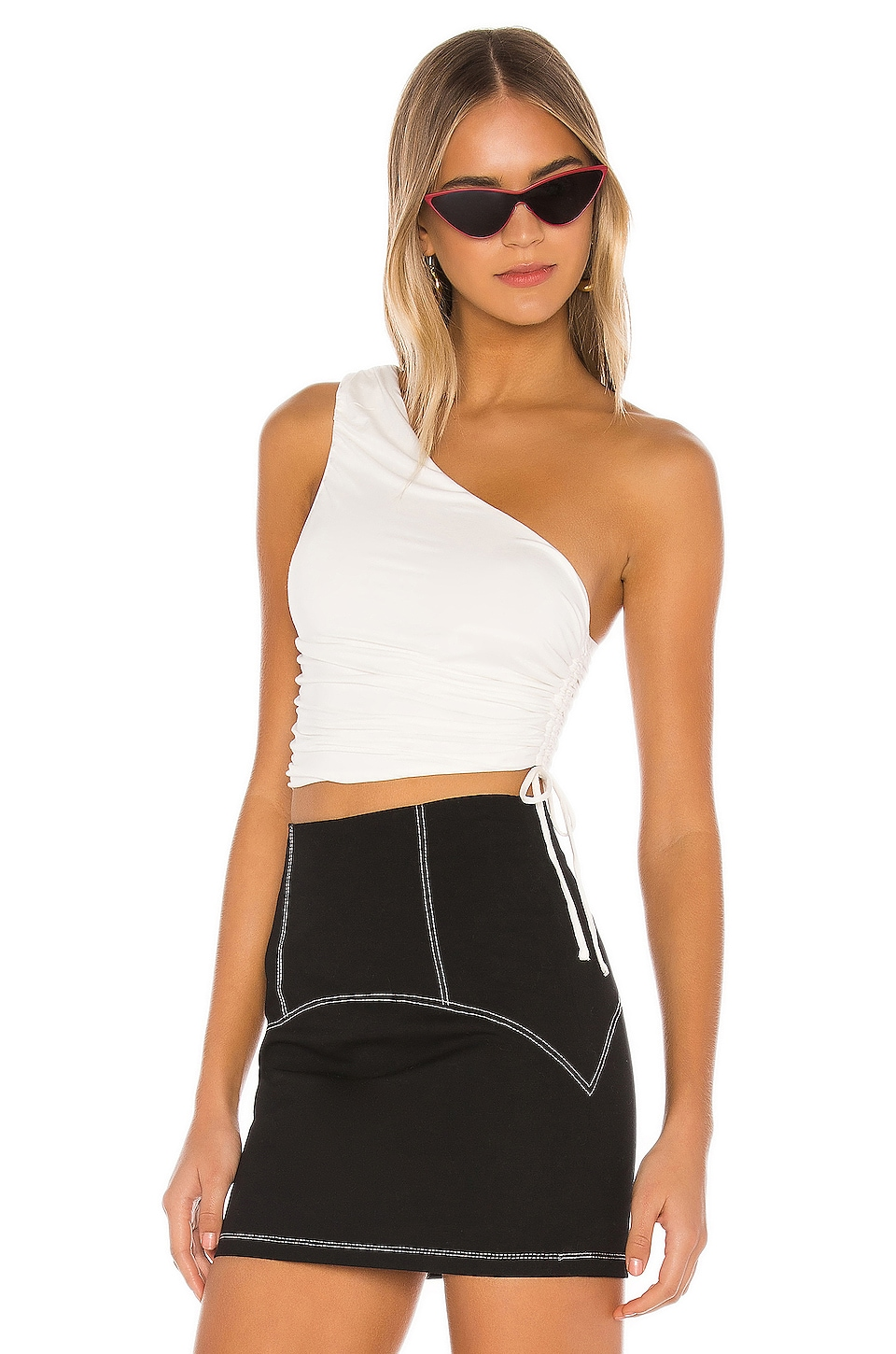 h:ours Hailee Top in Ivory