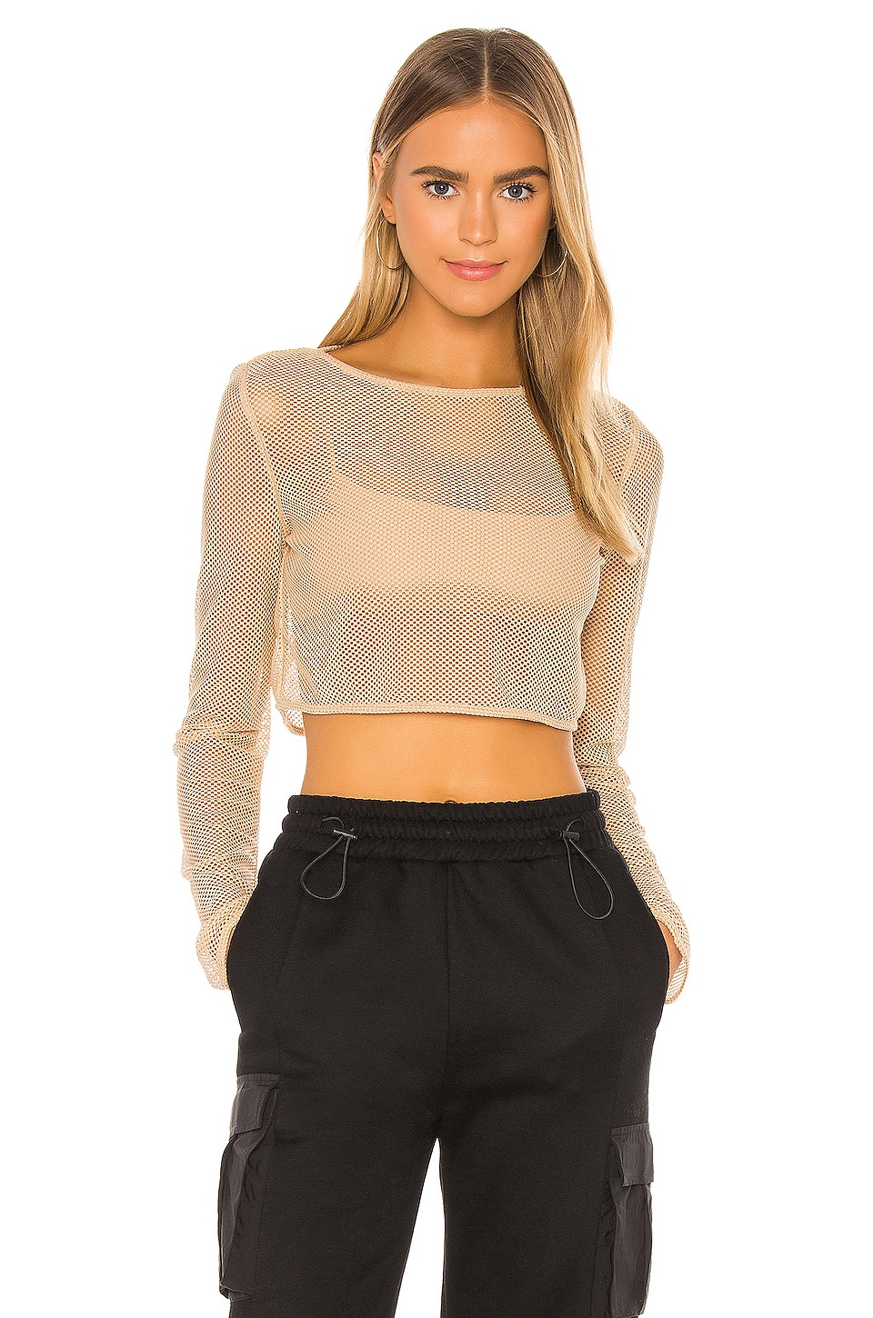h:ours TOP CROPPED VESTA