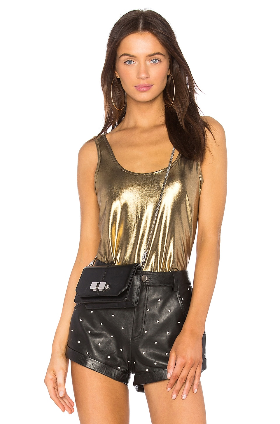 h:ours x REVOLVE Prairie Tank in Gold