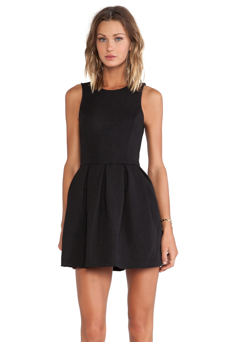 ISLA_CO Eye Candy Dress in Black